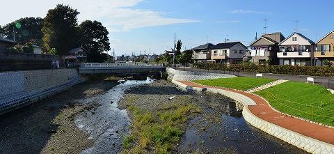 奈良橋川高木合流点5