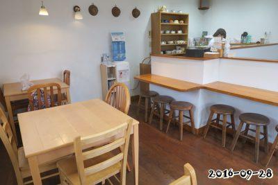 2階の喫茶コーナー
