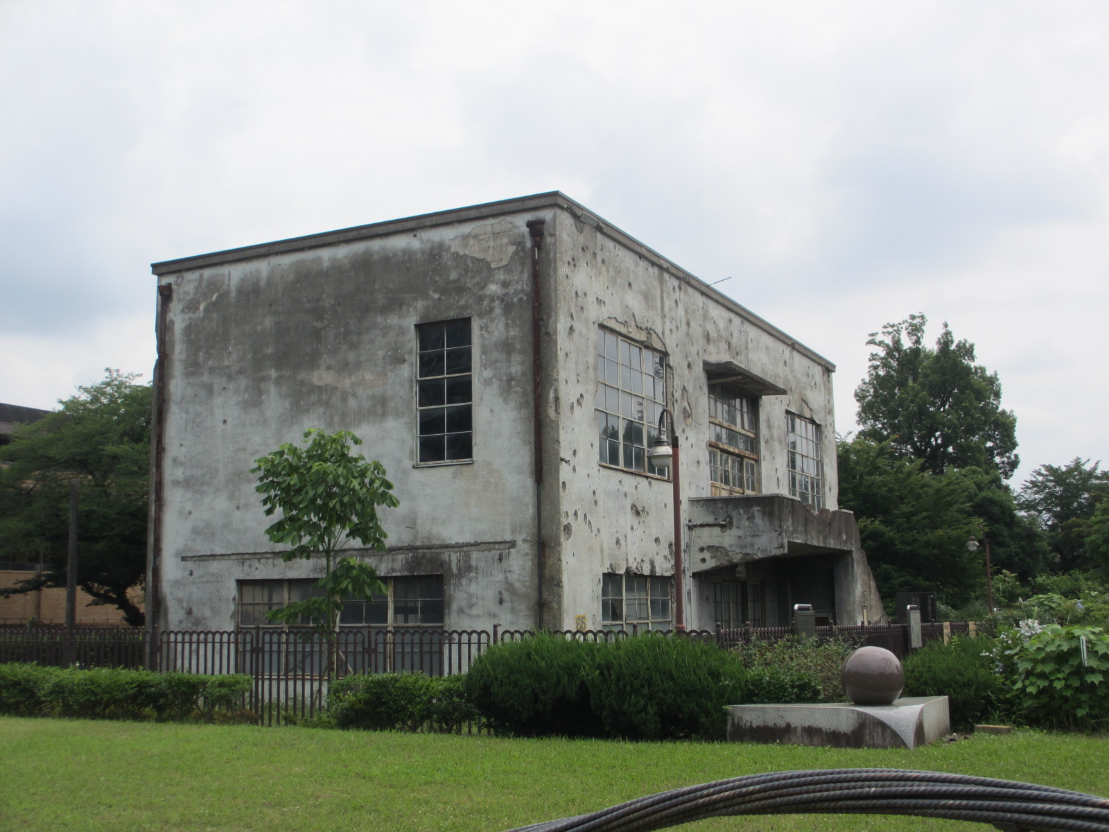 旧日立航空機株式会社変電所についてのイメージ