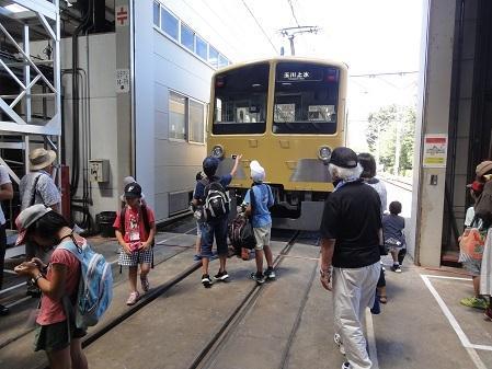 第14回夏休み☆みんなでつくる遊空間「西武電車車庫撮影会」NO.2