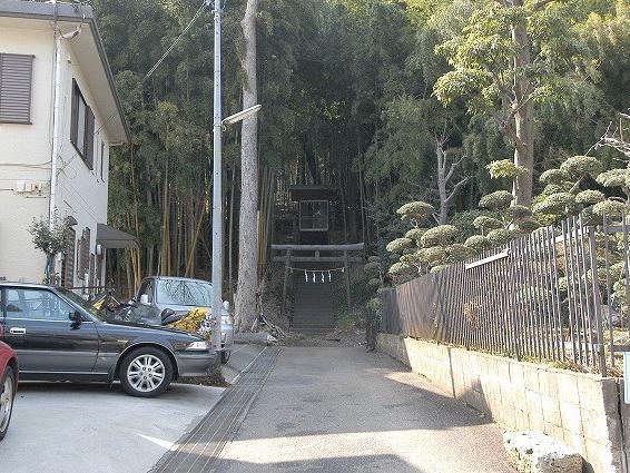 御嶽神社(東京都東大和市蔵敷)