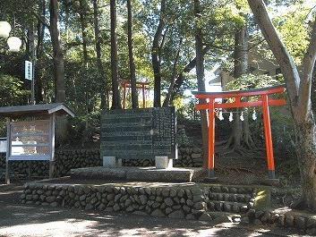 豊鹿島神社の境内社5 紅葉稲荷