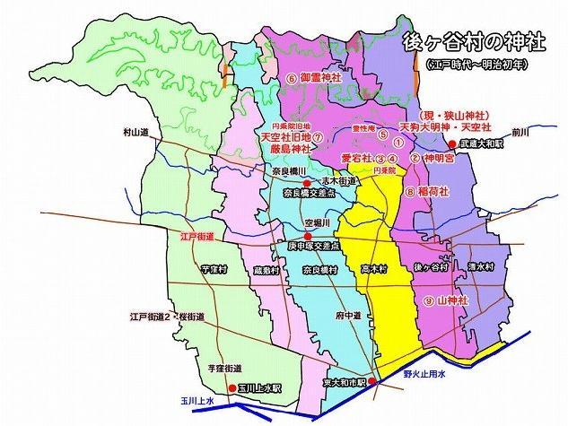 狭山神社の歴史