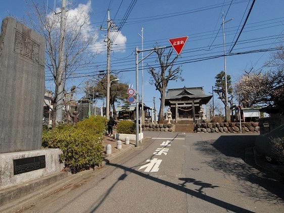 内堀先生の碑(東大和市狭山)