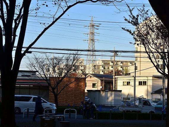 変電所跡 その一 変電所への電力供給
