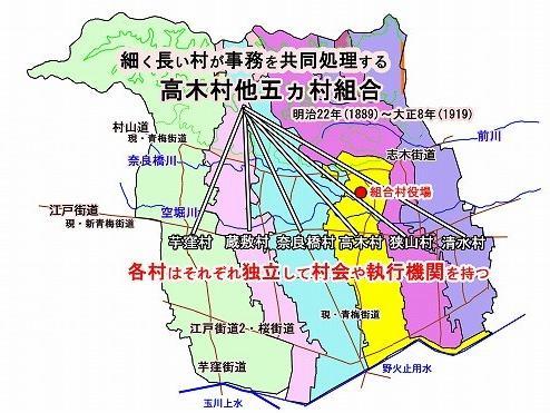 大和村の誕生(東京都東大和市)