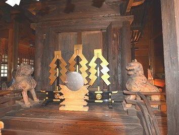 豊鹿島神社狛犬・天犬(あまいぬ)の謎