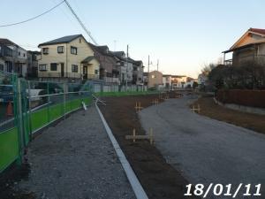 空堀川・旧宮前一の橋工事状況