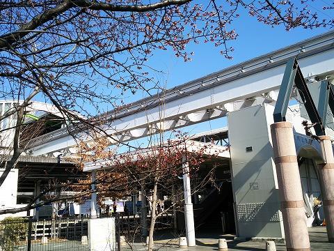 玉川上水駅前の風景62