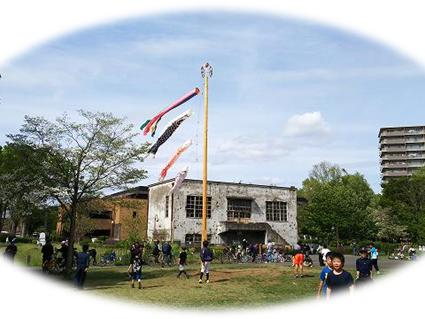 玉川上水駅周辺の風景123