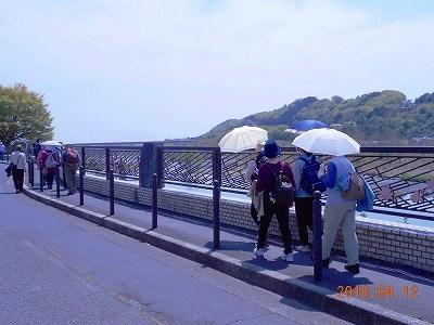 上北台PCサークルと断層の会は合同で羽村堰を訪ねる