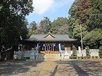 好天に恵まれた豊鹿島神社の例大祭