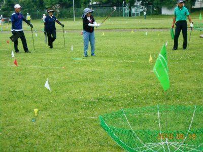 ターゲットバードゴルフは立川市TBG協会と交流大会