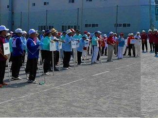 -速報版-第51回市町村総合体育大会ゲートボール競技