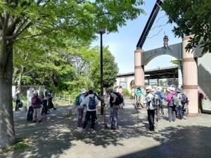 ノルディックウォーキング 昭和記念公園