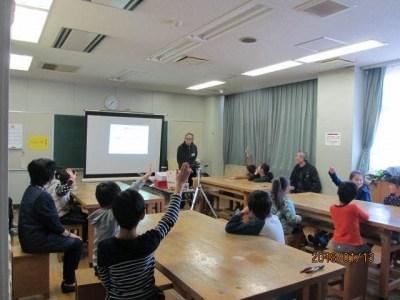 なんがい児童館で、ゲーム機製作 1月13日