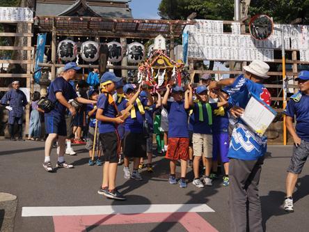 狭山神社の歴史とクイズラリー開催しました