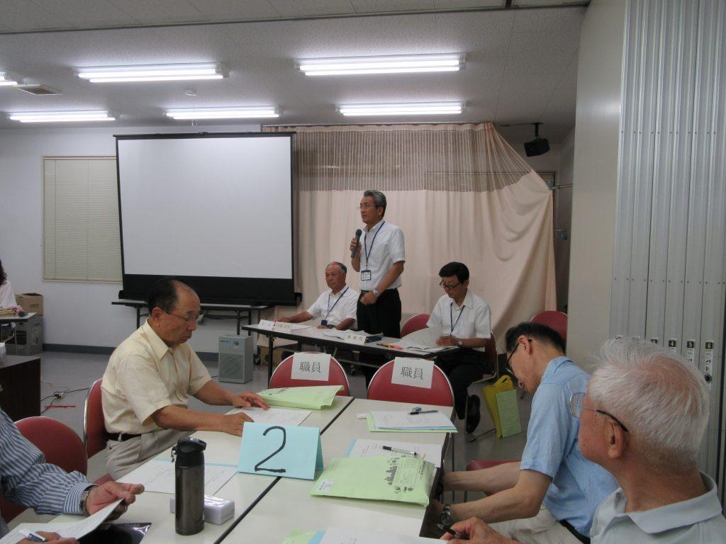 東大和市第1回自治会長・管理組合理事長会議の開催報告