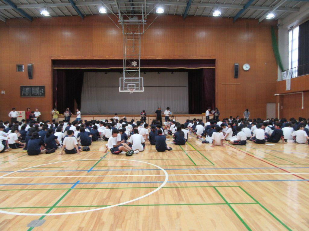 東京都立東大和南高校平成30年度第1学年宿泊防災訓練参加報告