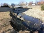 正月の空堀川