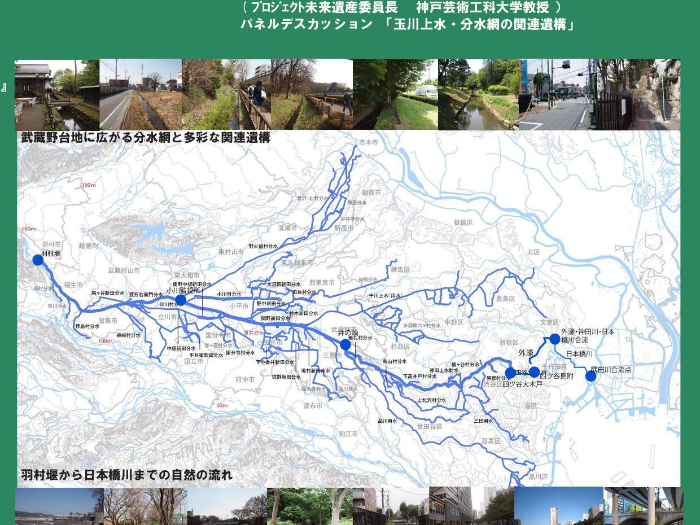 玉川上水分水網お宝100選!