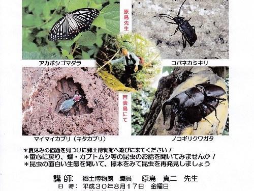 第43回公開講座「たかが虫!されど虫!」