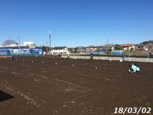 畑・やすじぃの農園スタート
