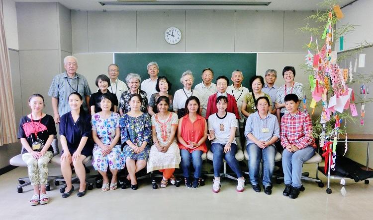 東大和・日本語の会 七夕