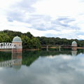 多摩湖取水塔120