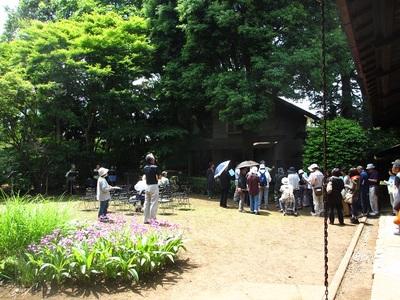 吉岡堅二と(仮称)東大和郷土美術園のイメージ